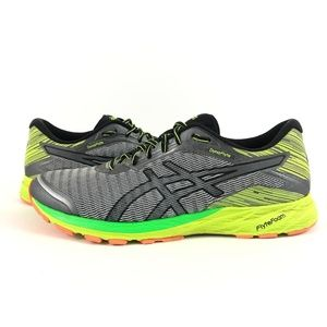 Asics Men's DynaFlyte Shoes Size 13 Gray Green